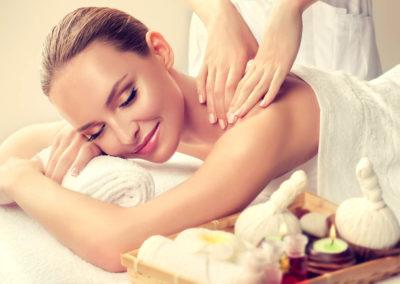 Massage und Wohlfühlanwendungen